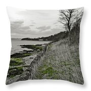 First Week Of Spring. Throw Pillow