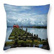 Firth Of Forth Throw Pillow
