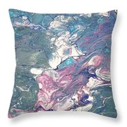 Fisch Under Water Throw Pillow