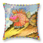 Fish #1 Throw Pillow