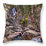 Fish Creek Fallin Throw Pillow