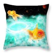 Zen Fish Dream Throw Pillow