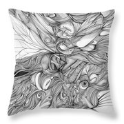 Fish Eye Tusk Throw Pillow