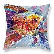 Fish II Throw Pillow
