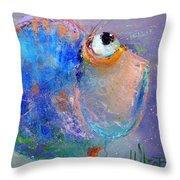 Fish-ka 2 Throw Pillow