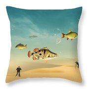 Fish Life  Throw Pillow