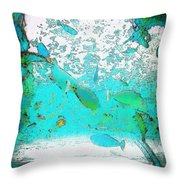 Fish Life Throw Pillow