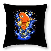Fish Lucky Throw Pillow