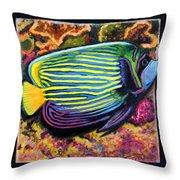 Fish Number 2 Throw Pillow