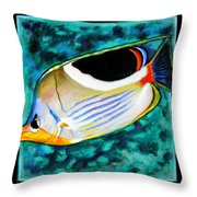 Fish Number Eleven Throw Pillow