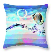 Fish Ocean Picture Throw Pillow