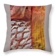 Fish Skin Throw Pillow