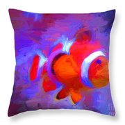 Fish Two Throw Pillow
