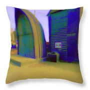 Fisher Houses Throw Pillow