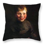 Fisherman Daughter 1910 Throw Pillow