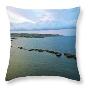 Fisherman's Delight In Sicily Throw Pillow