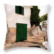 Fisherman's House Throw Pillow
