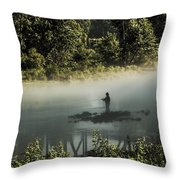 Fishermans Paradise  Throw Pillow