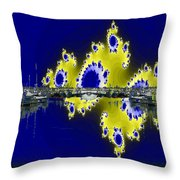 Fishermans Terminal Throw Pillow