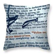 Fishers Of Men Throw Pillow