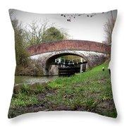 Fisheye Bridge Throw Pillow