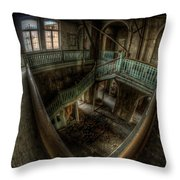 Fisheye From Above Throw Pillow