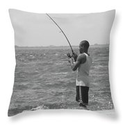 Fishful Thinkin....... Throw Pillow