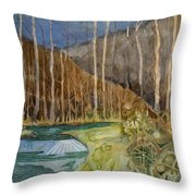 Fishing Creek Throw Pillow