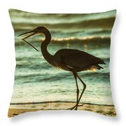 Fishing Day  Throw Pillow