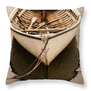 Fishing Dorry Throw Pillow