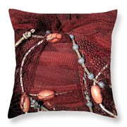 Fishing Need Paros Island Greece  Throw Pillow by Colette V Hera  Guggenheim