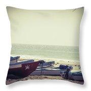 Fishing Season Throw Pillow