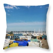 Fishing Things Throw Pillow