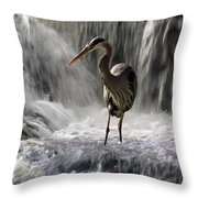 Fishing Time Throw Pillow