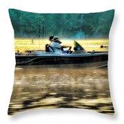 Fishing Trip Throw Pillow