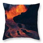 Fissure 8 Throw Pillow