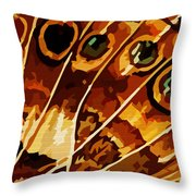 Five Eyes Throw Pillow