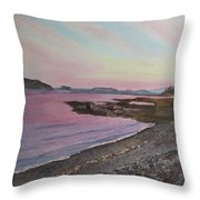 Five Islands - Draft IIi Throw Pillow