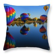 Five On The Water Throw Pillow