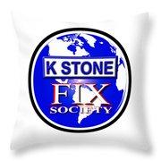 Fix Society Throw Pillow