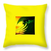 Fl O J Throw Pillow