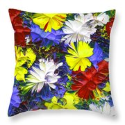 Abstract Fl12016 Throw Pillow