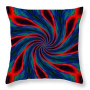 Flag Of The 48th Naval Illusionist Regiment Throw Pillow