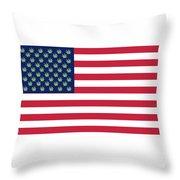 Flag1 Throw Pillow