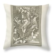 Flagellation Of A Saint Throw Pillow