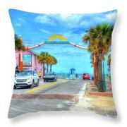 Flagler Avenue Throw Pillow