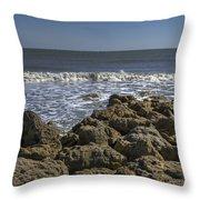 Flagler Beach 3 Throw Pillow