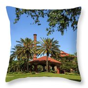 Flagler College, St Augustine Throw Pillow