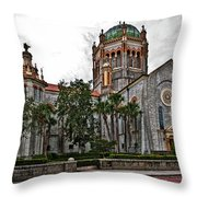 Flagler Memorial Presbyterian Church 2 Throw Pillow