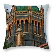 Flagler Memorial Presbyterian Church 3 Throw Pillow